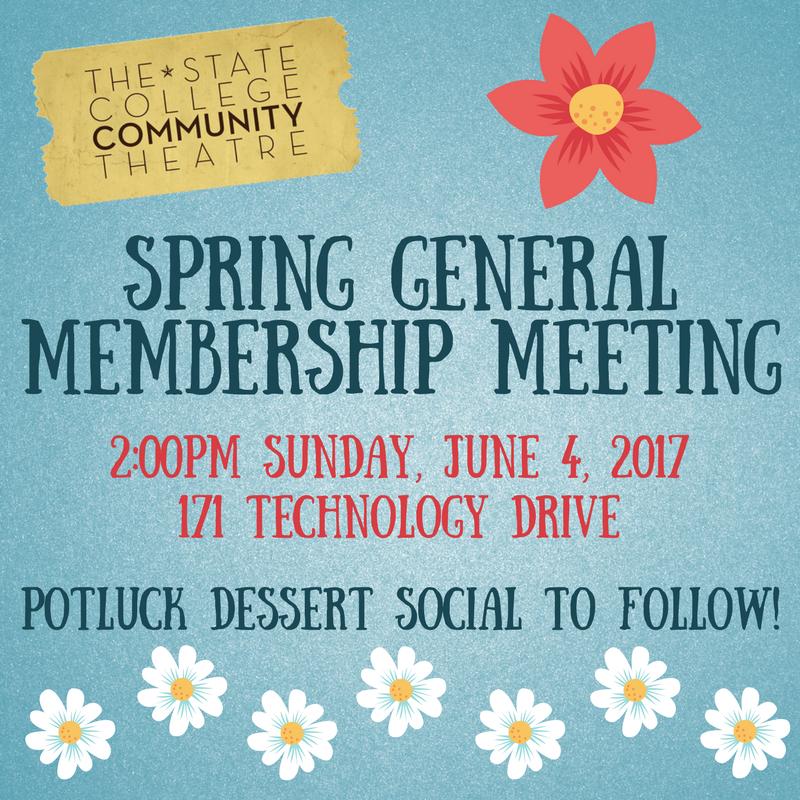 Spring General Membership Meeting