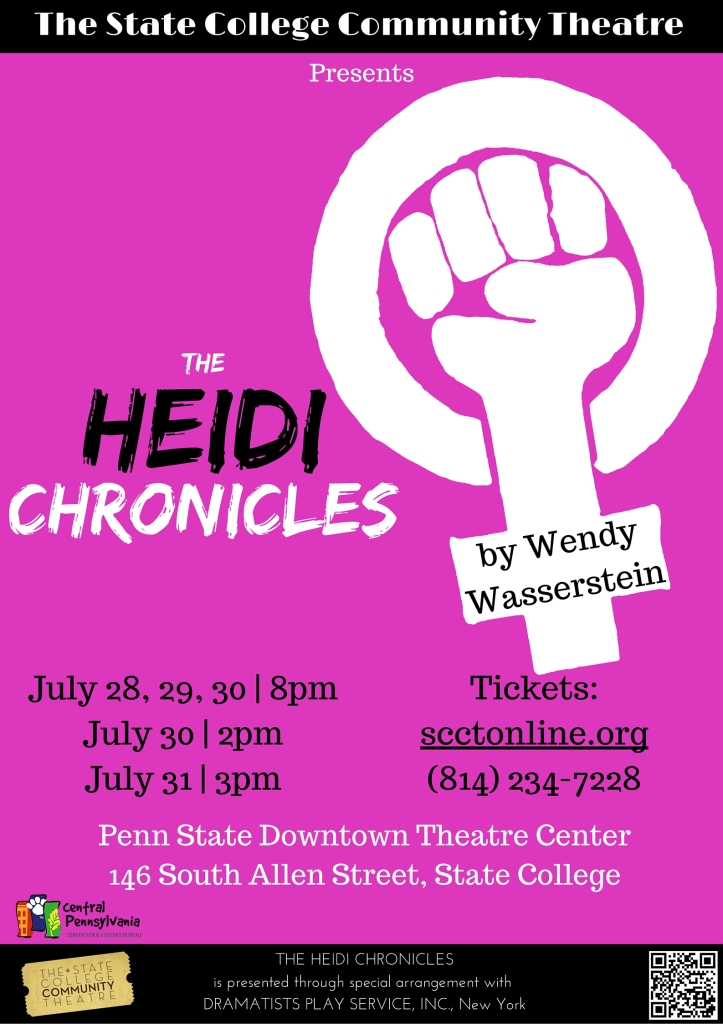 a review of the characters of the heidi chronicles by wendy wasserstein In one of the lectures that open each act of the heidi chronicles, elisabeth moss as title character heidi holland discusses two portraits by this key insight also defines the protagonist of wendy wasserstein's decades-spanning baby boomer play, an ambivalent, recessive character who.