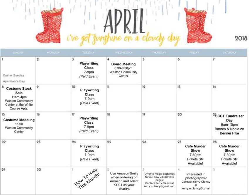 SCCT - Events Calendar