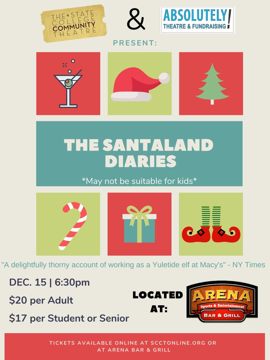 Santaland Diaries Poster (2)