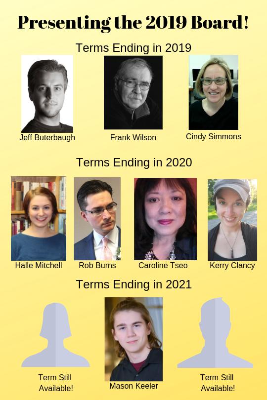Presenting the 2019 Board! (1)