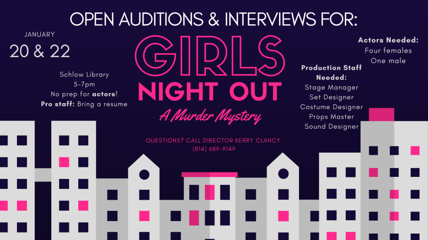 Girls Night Out Auditions - FB Event