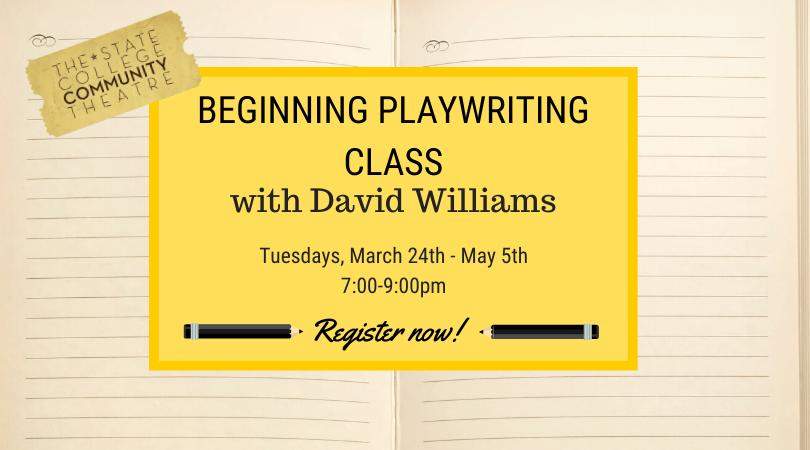 Playwriting Class