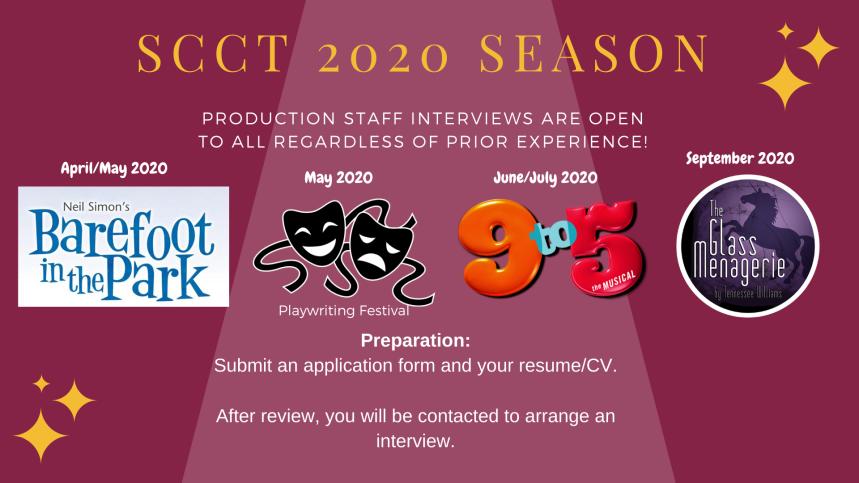 SCCT 2020 Season-Interviews
